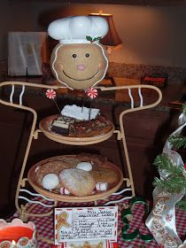 Miss Janice: Holiday Cookie Exchange and Luncheon Tablescape