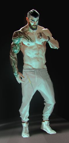 ArtStation - Jianli Wu - Mode Tutorial and Ideas Character Poses, Character Art, Cooler Stil, Fantasy Art Men, Art Station, Art Reference Poses, Gay Art, Character Design Inspiration, Guy Drawing