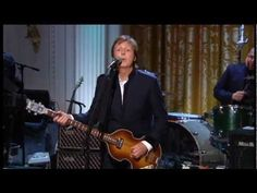 Paul McCartney & Stevie Wonder - Ebony and Ivory - In Performance At The White House - YouTube
