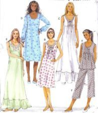 Butterick Sewing Pattern 5792 Nightgown   Pajamas Top   Pants Misses Size 6e42a24cd