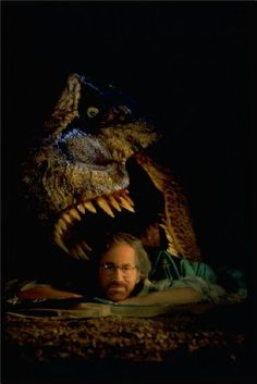 "Steven Spielberg (publicity shot for ""The Lost World: Jurassic Park"", 1997)"