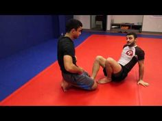 Hip Switch: Sneaky Back Take from Half Guard - YouTube