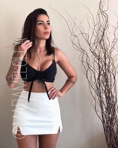 Swans Style is the top online fashion store for women. Shop sexy club dresses, jeans, shoes, bodysuits, skirts and more. Trendy Outfits, Cute Outfits, Fashion Outfits, Womens Fashion, Night Outfits, Summer Outfits, Cute Fashion, Fashion Looks, High Waisted Cropped Jeans
