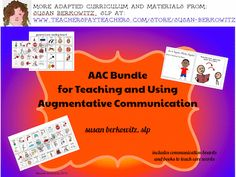 AAC Communication Boards and Books Bundle has sets of picture communication boards using core words with a variety of core word arrangements and for a variety of activities, as well as sets of my clinician-created books for teaching use of core words. $