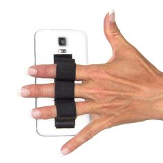 GRIP YOUR GEAR with LAZY-HANDS Thumbs-free grips for your large Smartphone, cell phone or phablet. You can even put LAZY-HANDS on your cover or case. LAZY-HANDS will help you keep your hand steady while shooting photos or videos.  http://lazy-hands.com/product/3-loop-grip-for-iphone-smartphone-and-cell-phones/