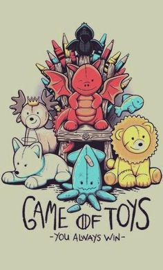 Items similar to Game of Toys Art Print, Game of Thrones Art, Winter is Coming Canvas Wall Print Cute Kids Baby Room Baby Shower Nursery Art Wall Gift Decor on Etsy Game Of Thrones Toys, Dessin Game Of Thrones, Arte Game Of Thrones, Game Of Thrones Cartoon, Game Of Thrones Drawings, Game Of Thrones Meme, Got Merchandise, Game Of Thrones Instagram, 4 Wallpaper