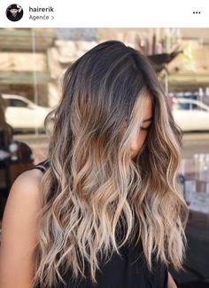 Bayalage Light Brown Hair, How To Bayalage Hair, Balayage Hair, Ombre Hair, Hair Inspo, Hair Inspiration, Long Hair Cuts, Long Hair Styles, Brown To Blonde