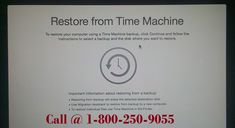 Get contacted with dedicated online technical support by making a call at +1-800-250-9055 for How to Restore Time Machine Backup to New Mac via remote help to fix every Mac problems. Users can either read the blog or if not able to get resolved get help from the techies available for US and Canada.