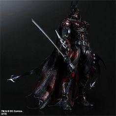 Red Batman Play Arts Kai Toy Red Batman, Batman Dark, Batman The Dark Knight, Figurine Batman, Planet Of The Dead, Figure Model, Off Black, Classic Tv, Katana