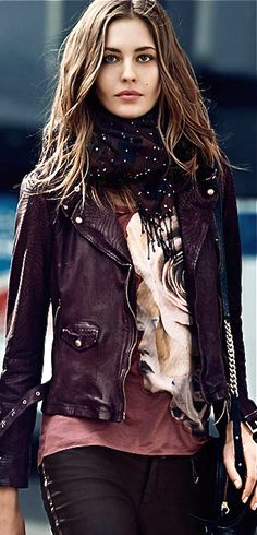 Emmy DE * Nadja Bender by Lachlan Bailey, Hugo Boss Fall 2013/Winter 2014 Campaign ROCK AND ROLL