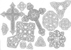 Celtic tattoo study