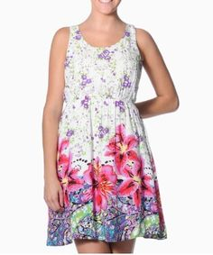 Cute spring dress, love it and actually bought it myself!