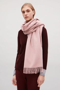COS | Wool-cashmere scarf