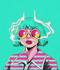 Art Sketches, Art Drawings, Arte Cyberpunk, Acid Art, Grunge Art, Hippie Art, Arte Pop, Dope Art, Retro Art