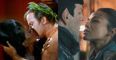 STAR TREK'S UHURA AND SPOCK WERE SUPPOSED TO HOOK UP YEARS AGO, THEN WILLIAM SHATNER PULLED RANK