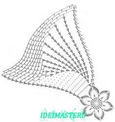 Captivating All About Crochet Ideas. Awe Inspiring All About Crochet Ideas. Crochet Doily Diagram, Crochet Motif Patterns, Crochet Chart, Crochet Mandala, Thread Crochet, Crochet Designs, Crochet Flowers, Knitting Patterns, Dress Patterns