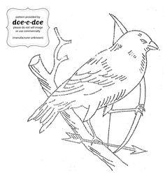 doe-c-doe: wednesday = thursday = embroidery