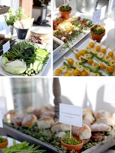 Rooftop Rustic Garden in the City First Birthday Party