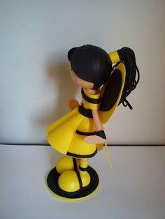 Boneca  abelhinha em 3D