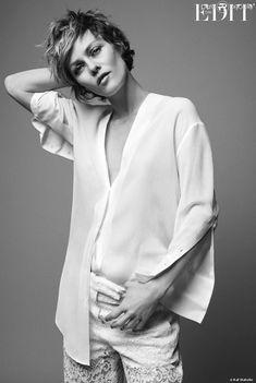 Vanessa Paradis, photographiée pour le magazine The Edit du site Net-a-porter (avril 2014)