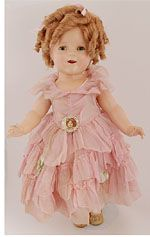 Rarest of the rare 18 inch Shirley Temple doll, this is the earliest prototype Shirley Temple doll, only marked with the paper tag