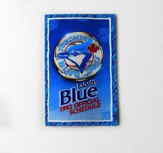 Check out our massive range of Toronto Blue Jays merchandise! Toronto Blue Jays, Porsche Logo, Team Logo, Handmade Gifts, How To Memorize Things, Schedule, Baseball, Logos, Pocket
