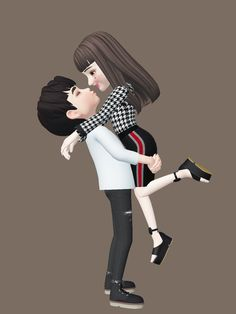 Baby Cartoon Drawing, Cute Cartoon Boy, Love Cartoon Couple, Cute Couple Art, Cute Love Cartoons, Happy Cartoon, Cute Images For Dp, Cute Love Pictures, Cute Cartoon Pictures