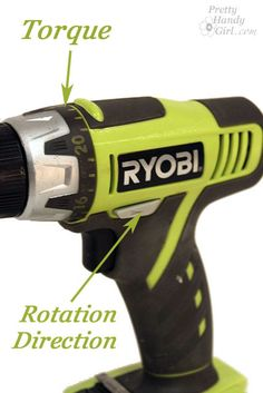 Tool Tutorial Friday – How to Use a Cordless Drill