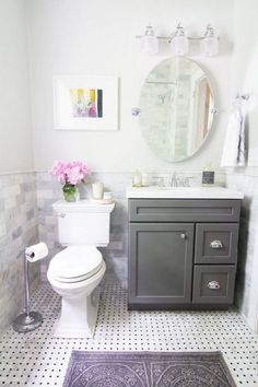 50+ Cool Small Bathroom Remodel Inspirations