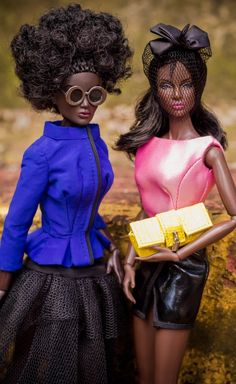 You've come a long way baby…Black Fashion dolls in demand like never before   BfabAfrica