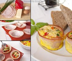 Ham and egg cups http://www.handimania.com/cooking/ham-and-egg-cups.html