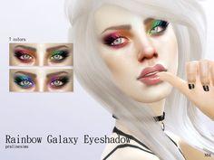 Pralinesims' Rainbow Galaxy Eyeshadow N04