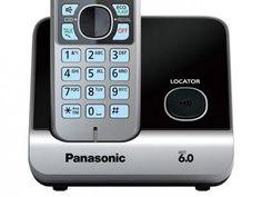 Telefone Sem Fio Panasonic Até 6 Ramais - Identificador de Chamadas KX-TG6711LBB…