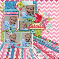 Sorta Fabulous by Megan Turnidge, Meghan Mullens & Studio Flergs Brook's Templates - Duo 08 Pretty Kitschy by Brook Magee