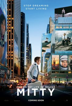 THE SECRET LIFE OF WALTER MITTY City Poster PICTURES PHOTOS and IMAGES