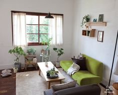 Decor ideas from IDÉE & MUJI: Spring green