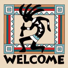 With These Colorful Kokopelli Ceramic Tiles You Can Hang Them In A Frame Or Simply Lay Native American