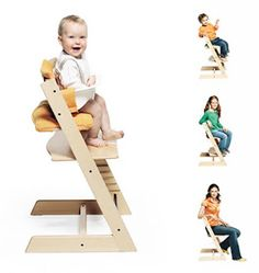 Stokke Tripp Trapp...pricey but your kid can use it for life!