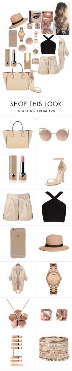 """""""Nude"""" by danillove14 ❤ liked on Polyvore featuring Moreau, MANGO, Marc Jacobs, Neiman Marcus, Witchery, BCBGMAXAZRIA, Agent 18, Brooks Brothers, GUESS and Allurez"""