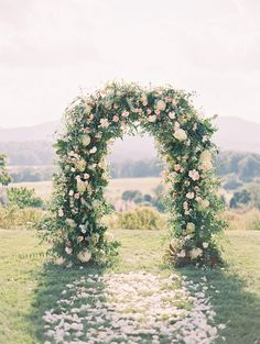 Whimsical dusty pink floral ceremony arch at Pippin Hill Farm & Vineyards in North Garden, Virginia. Dream turned reality by Florist- Southern Blooms, Photographer- Luna De Mare Photography and Planner- Amore Events by Cody. Pastel Wedding Colors, Pink Wedding Theme, Floral Wedding, Wedding Flowers, Pastel Weddings, Dream Wedding, Ceremony Arch, Wedding Ceremony, Wedding Gazebo