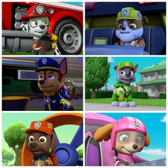 Los Paw Patrol, Paw Patrol Pups, Paw Patrol Party, Nickelodeon, Learn To Draw, Collage, Ice Cream, Hero, Trucks