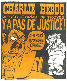 Charlie Hebdo - # 276 - 26 Février 1976 - Couverture : Cabu