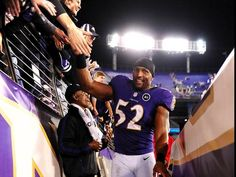 Thank you Ray Lewis