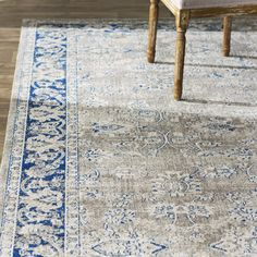 "Found it at Joss & Main - Cecily 5'1"" x 7'6"" Rug in Taupe & Blue"
