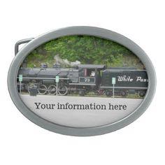 Locomotive Belt Buckle - accessories accessory gift idea stylish unique custom