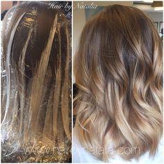 Balayage hair painting on mid length hair. Balayage in Denver, Balayage specialist in Denver. #Balayage #balayagehairpainting #hairPainting #modernsalon #btc #btcpics #americansalon #balayageDenver #balayagehair #balayageSpecialistDenver #denverhairstylist #hairbynatalia #denver #denvergirl #denversalon #denverhairstylist #loreal #lorealhaircolorsalondenver #hairlove #hair