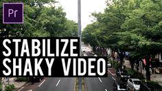 Adobe Premiere Pro - Stabilize Shaky Video
