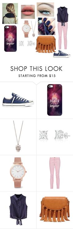 """""""school"""" by li-directioner ❤ liked on Polyvore featuring Disturbia, Converse, Casetify, Alexander McQueen, Larsson & Jennings, Current/Elliott, Chicnova Fashion and Sole Society"""