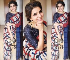 Looking for creative ways to pose on sarees for photographs that you like to show off to others, then check out these classic saree poses to look best ! Saree Blouse Patterns, Saree Blouse Designs, Indian Dresses, Indian Outfits, Indie Mode, Saree Hairstyles, Saree Poses, Modern Saree, Saree Photoshoot