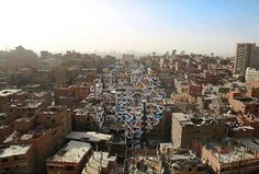 One of Cairo's under-developed neighborhoods, Manshiyat Naser (located on the borders of Nasr City and the base of Mokattam hills), has been turned into a